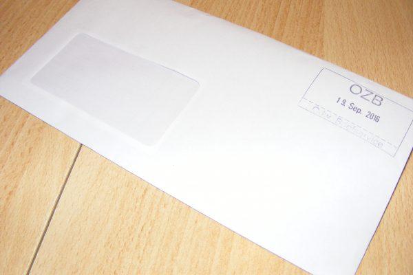 Preise für Briefsendungen